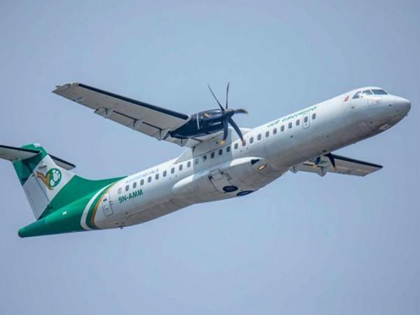काठमाडौं–बनारस रुटमा यतीले गर्यो परीक्षण उडान