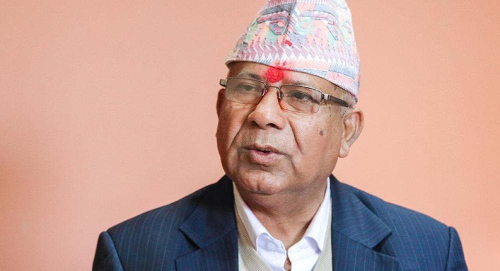 माधव नेपाल समूहको बैठक सुरु