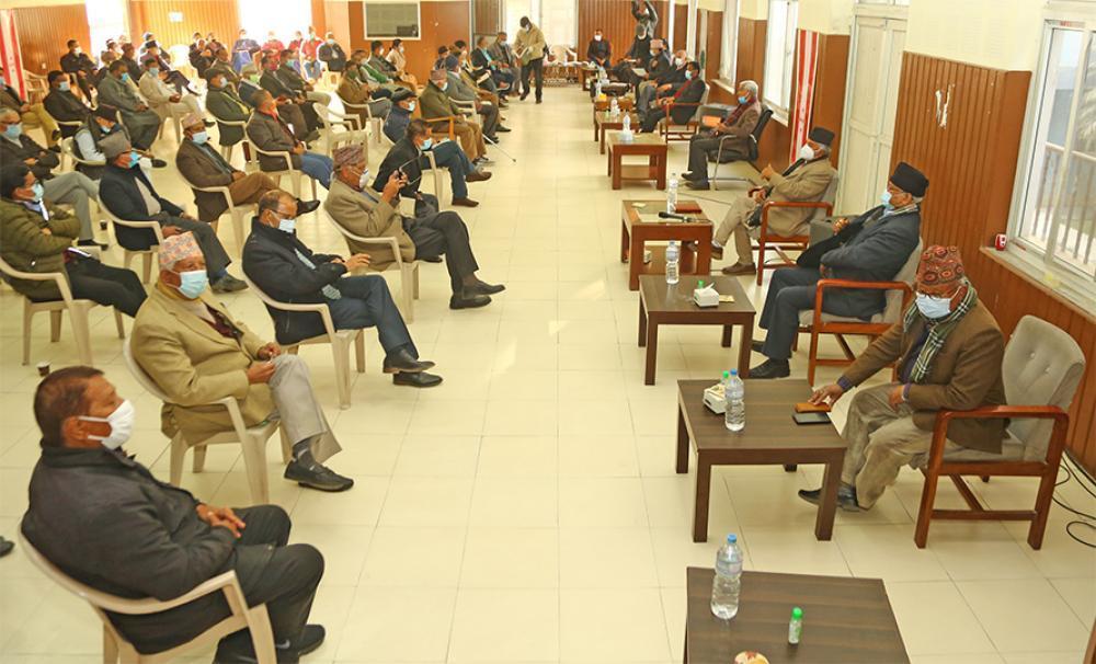 सानेपामा कांग्रेस केन्द्रीय समितिको बैठक बस्दै